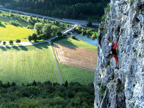 Kletterausrüstung Mehrseillängen : Mehrseillängen kletterkurs